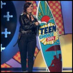 Premios Teen Choice 2014: El look de Demi Lovato
