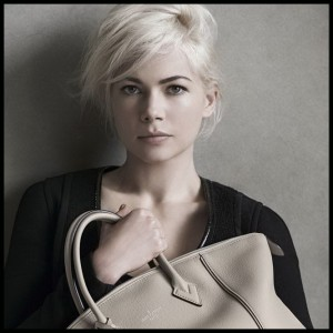 Michelle Williams nuevamente imagen de Louis Vuitton