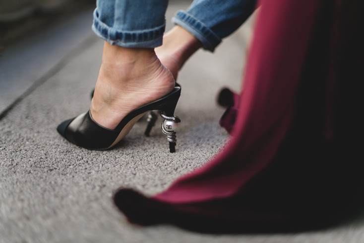 Mules Chanel 1