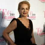 Carolina Herrera galardonada con el premio Top Glamour Women of the Year