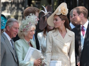 Kate Middleton en la boda de Zara Phillips 2011 4