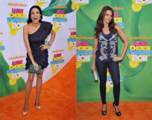 El look de los famosos en los *Kid's Choice Awards 2011*