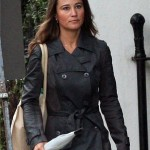 El look trench de Pippa Middlenton